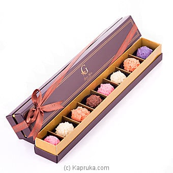8 Piece Chocolate Truffle Box(GMC) at Kapruka Online for specialGifts