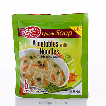 Rasa Hari Cream Of Vegetable Soup 60g at Kapruka Online for specialGifts