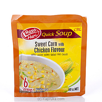 Rasa Hari Sweet Corn Soup 60g at Kapruka Online for specialGifts
