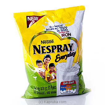 Nespray Milk Powder Pouch 1kg at Kapruka Online for specialGifts