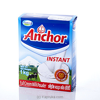 Anchor Instant Milk Powder 1kg at Kapruka Online for specialGifts
