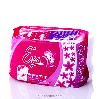 Eva Dritex Sanitary Regular Wings 10 Napkins at Kapruka Online for specialGifts