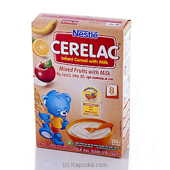 Nestle Cerelac Mixed Fruit with Milk 250g at Kapruka Online for specialGifts