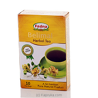 Fadna Herbal Tea Belimal 10 Tea Bags at Kapruka Online for specialGifts