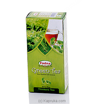 Fadna Green Tea Gotukola 20 Tea Bags at Kapruka Online for specialGifts