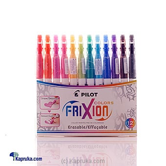 Pilot Frixion Erasable Color -12 Pens at Kapruka Online for specialGifts