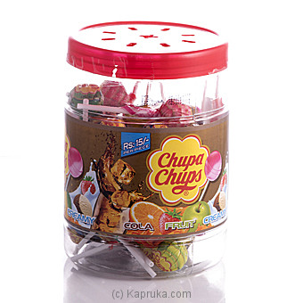 Chupa Chups Mini 50 Pcs Jar at Kapruka Online for specialGifts