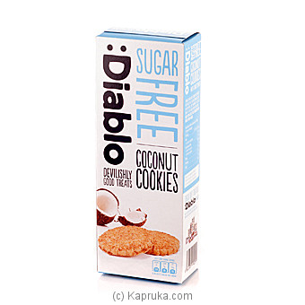 Diablo Sugar Free Coconut Cookies -100g at Kapruka Online for specialGifts