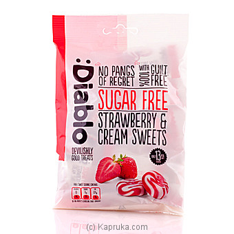Diablo Sugar Free Strawberry And Cream Sweets at Kapruka Online for specialGifts