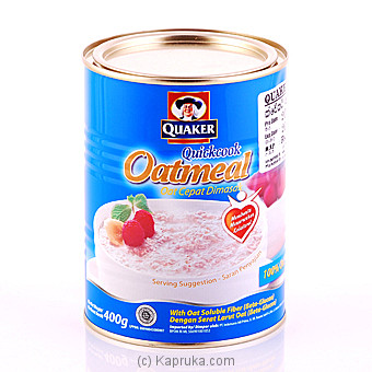 Quaker Oat Meal Cepat Dimasak 400g at Kapruka Online for specialGifts