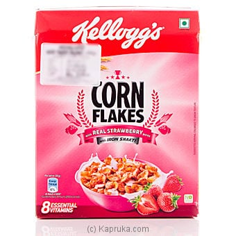 Kelloggs Corn Flakes with Real Strawberry	100g at Kapruka Online for specialGifts