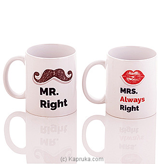 Mr & Mrs Mug at Kapruka Online for specialGifts