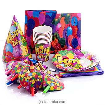 Happy Birthday Party Packs at Kapruka Online for specialGifts