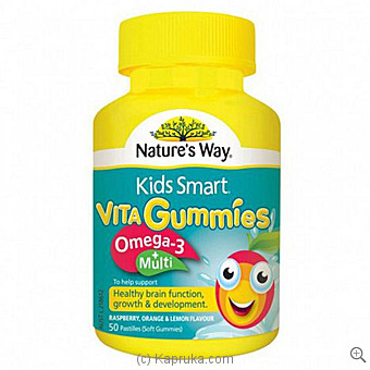 Natures Way Vita Gummies Omega 3 +Multi at Kapruka Online for specialGifts