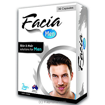 FACIA Men 30 Capsules at Kapruka Online for specialGifts