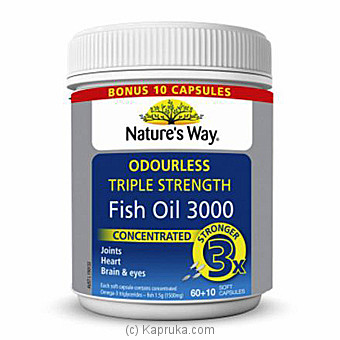 Triple Strength Fish Oil at Kapruka Online for specialGifts