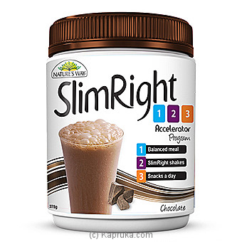 Natures Way Slim Chocolate Shake - 375g at Kapruka Online for specialGifts