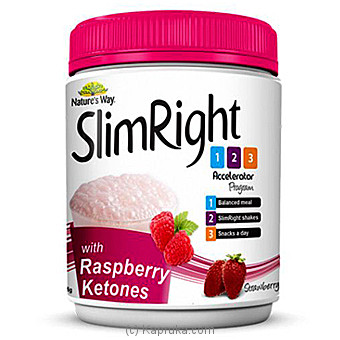 Nature`s Way SlimRight Shakes - Strawberry W. Raspberry Ketones at Kapruka Online for specialGifts