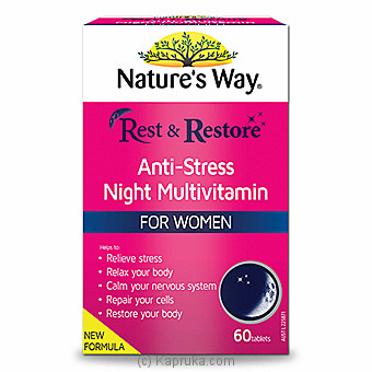 Natures Way R&R Night Multivitamin Women at Kapruka Online for specialGifts