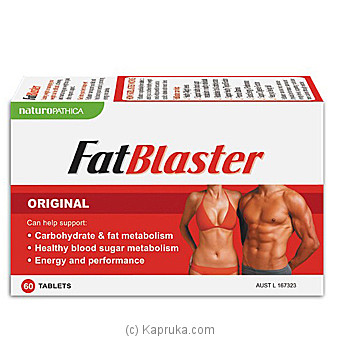 Naturo Opathica Fat Blaster - 60tabs at Kapruka Online for specialGifts
