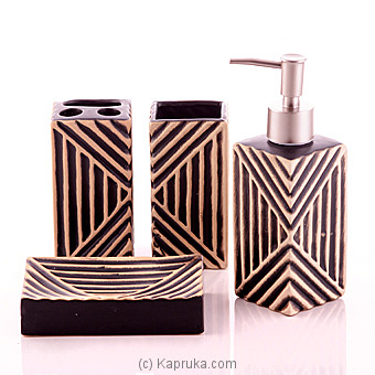 Sweet Home Black Toiletries Gift Set at Kapruka Online for specialGifts