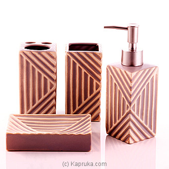 Ceramic Toiletries Gift Set at Kapruka Online for specialGifts