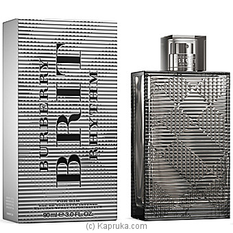 Brit Rhythm For Him Intense Burberry For Men By BURBERRY at Kapruka Online forspecialGifts