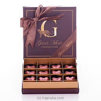 Gold Heart Chocolate Box (GMC) at Kapruka Online for specialGifts
