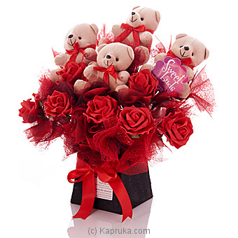 Teddy Roses at Kapruka Online for specialGifts