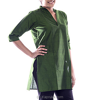 Long Sleeve Green Kurutha at Kapruka Online for specialGifts