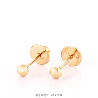 22K Gold Ear Stud at Kapruka Online for specialGifts