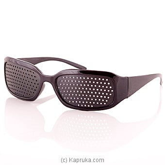Pin Hole Eyesight Enhancing Eye Wear at Kapruka Online for specialGifts