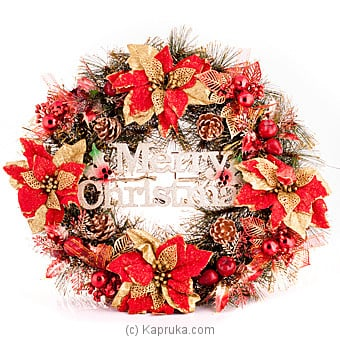 Rustic Christmas Wreaths at Kapruka Online for specialGifts