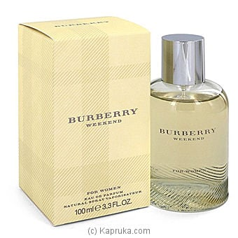 Burberry Weekend For Women -100ml at Kapruka Online for specialGifts