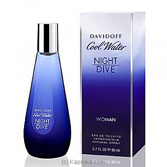 Davidoff Cool Water Night Dive - 80Ml at Kapruka Online for specialGifts