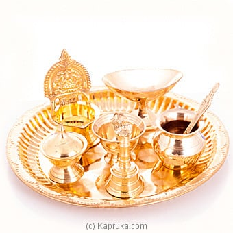 Pooja Thali at Kapruka Online for specialGifts