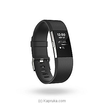 Fitbit Charge 2 Activity Tracker + Heart Rate (Large) at Kapruka Online for specialGifts
