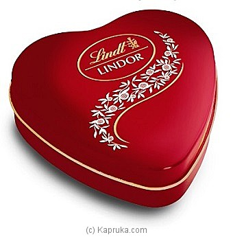 Lindor Heart Truffle Box - 62.5g at Kapruka Online for specialGifts
