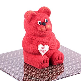 Love Struck Teddy Bear Chocolate- Red(GMC) By GMC at Kapruka Online forspecialGifts