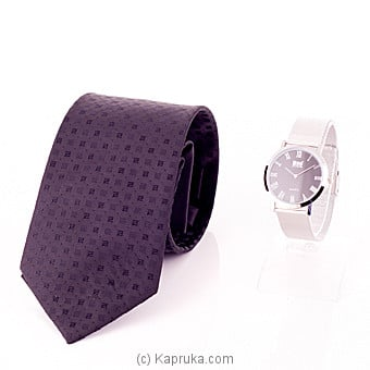 Divo Watch With A Tie Gift Set at Kapruka Online for specialGifts
