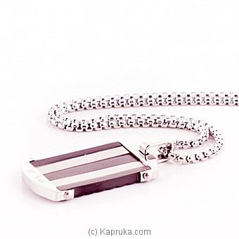 Silver Pendant With A Chain For Him at Kapruka Online for specialGifts