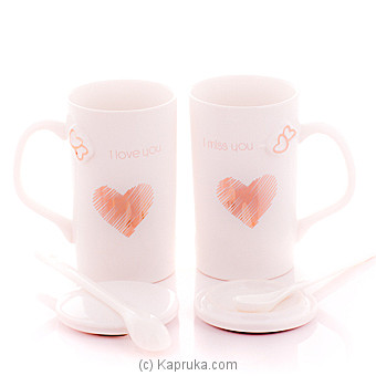 I Love You Couple Mug  - White at Kapruka Online for specialGifts