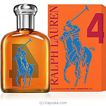 Big Pony Collection Gents No4 125ML at Kapruka Online for specialGifts