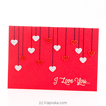 Kapruka online greeting cards for home delivery i love you greeting card at kapruka online m4hsunfo