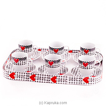 Ceramic Mini Cup Gift Set at Kapruka Online for specialGifts