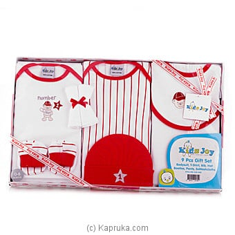 `Kids Joy`Gift Set For New Born Baby - Red at Kapruka Online for specialGifts