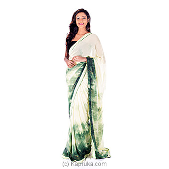 Green Shaded Saree at Kapruka Online for specialGifts