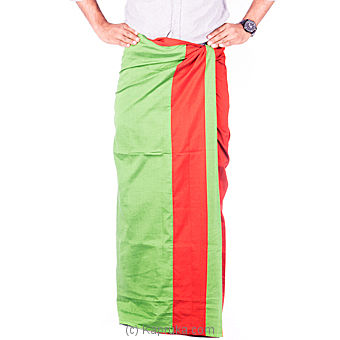 Homins Red Handloom Sarong at Kapruka Online for specialGifts