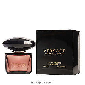 Versace Crystal Noir  90ml By VERSACE at Kapruka Online forspecialGifts