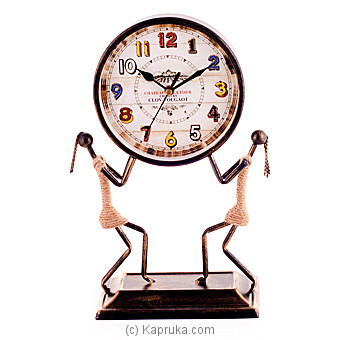 Antique Table Clock Ornament at Kapruka Online for specialGifts